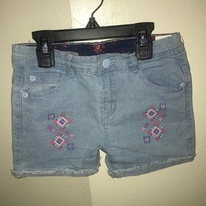 Other - Girls size 8 blue jean shorts